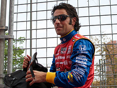 Dario suiting up for the Baltimore Grand Prix
